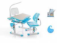 Комплект парта и стульчик Evo-kids Evo-05 с лампой