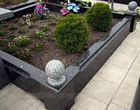 Изготовление цоколей для могил на кладбище