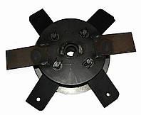 Ротор в сборе с бичами на крупорушку Эликор 1 исполнение 3