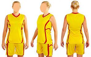 Форма баскетбольная женская Atlanta CO-1101 (полиэстер, р-р S-L(44-50), цвета в ассортименте)