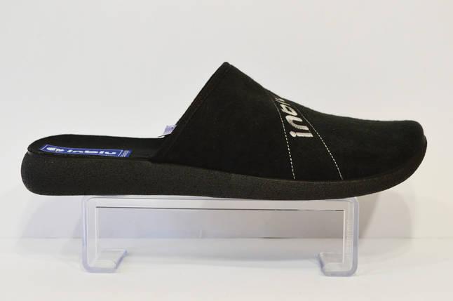 Черные домашние тапочки Inblu AC-4Q, фото 2