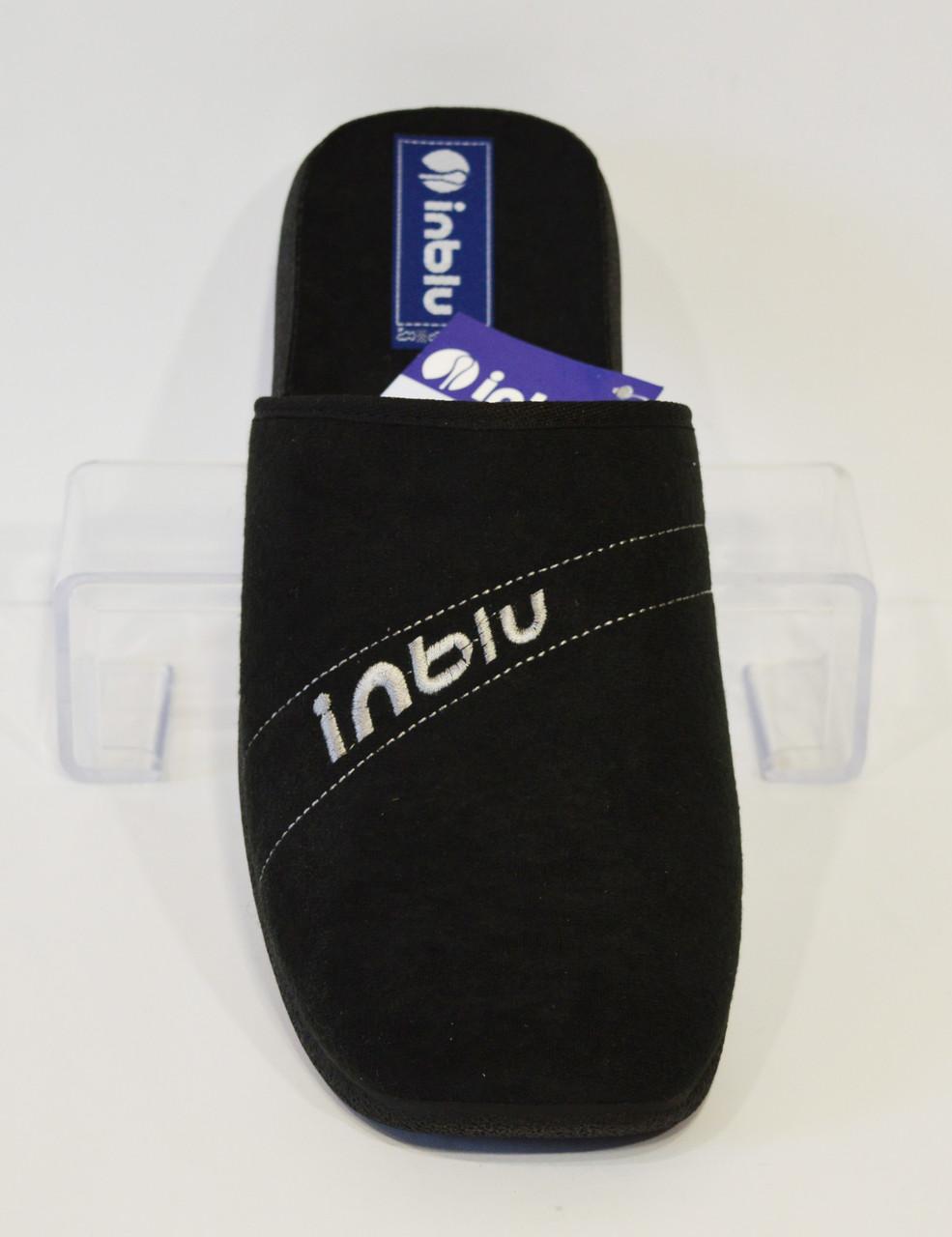 Черные домашние тапочки Inblu AC-4Q