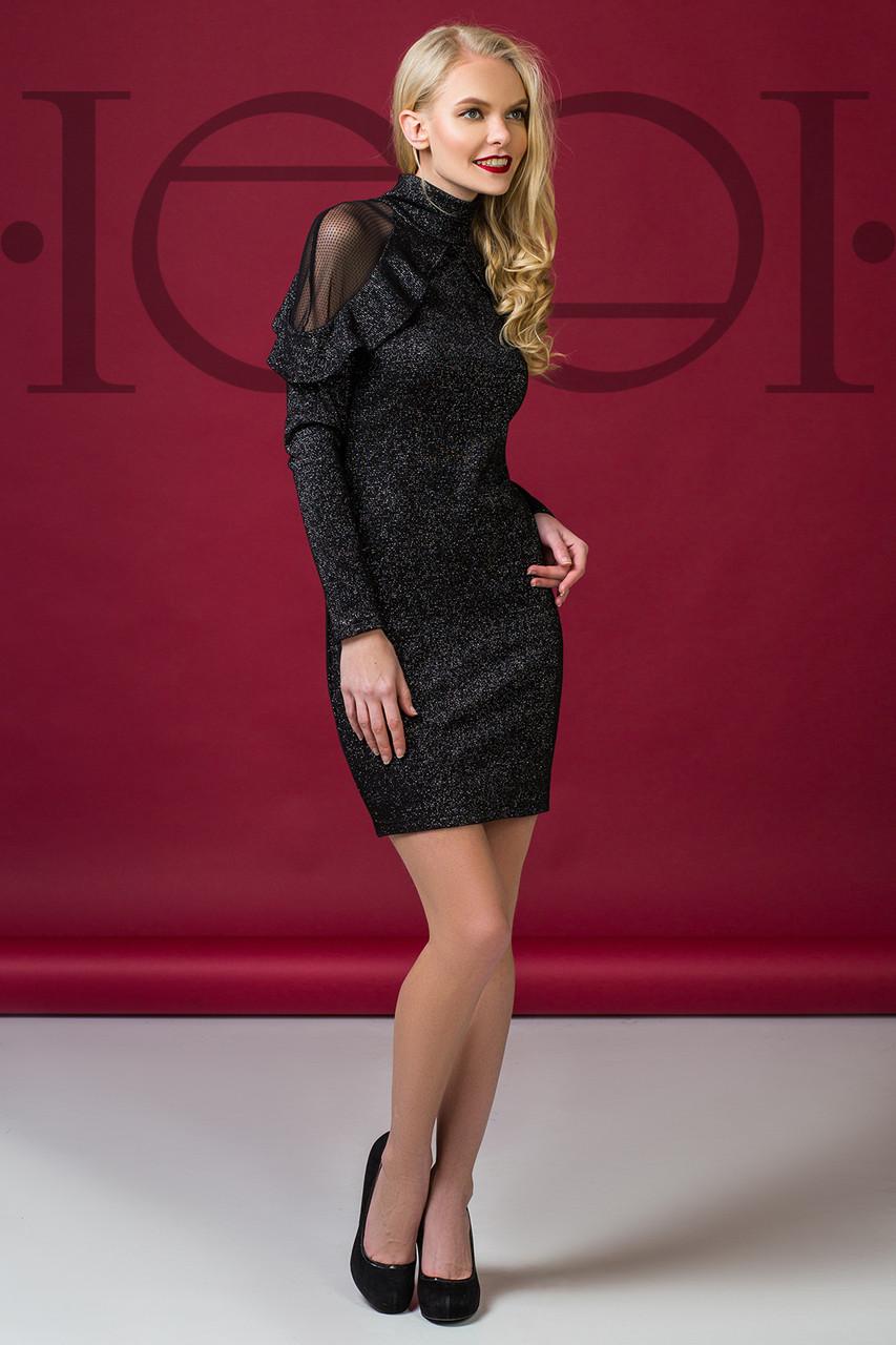 Платье коктейльное 5904, нарядное платье, платье с гипюром -  Irmana.com.ua - оптовый интернет магазин одежды в Харькове