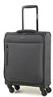 Маленький 31л. тканевый 4-х колесный чемодан Members Vogue (S) Black & White Mini Paisley 923545