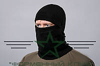 Шапка-маска черная зимняя