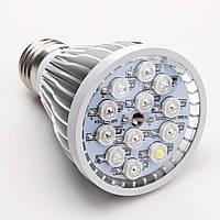LED фитолампа для растений 12w(12x1w)
