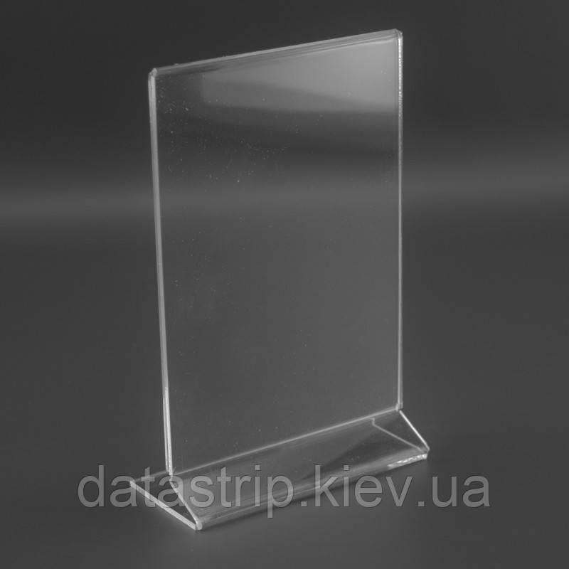 Менюхолдер Z-образная подставка А6 вертикальный