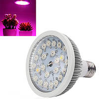 LED фотолампа для растений 24w(24x1w)