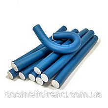 """Бігуді-папільотку гумові довгі """"Бумеранги"""" (комплект 10 шт, діаметр 22 мм)"""