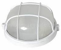 Светильник ЖКХ НПП 04 У-61 (метал/стекло) Антивандальный Белый (диаметр 165 мм)
