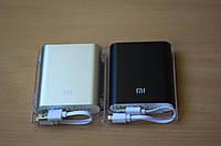 Power Bank 10400 mAh, Xiaomi MI, серебристый, внешний аккумулятор, батарея, Повер банк Xiaomi MI