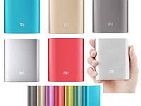 Power Bank 10400 mAh, Xiaomi MI, золотистый, серебристый, внешний аккумулятор, батарея, Повер банк