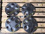 Колпаки колесные заз 1102 1103 таврия славута черные, фото 7