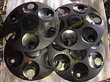 Колпаки колесные заз 1102 1103 таврия славута черные, фото 2