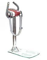 Вибромассажер антицеллюлитный со стеклянной опорой  HM 3003