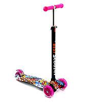 Самокат Best Scooter Maxi (3-12 лет) для девочки