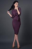 Модное трикотажное женское платье оптом и в розницу