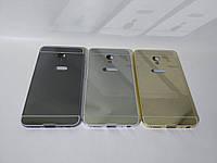 Алюминиевый чехол бампер для Meizu M3E (зеркальный)