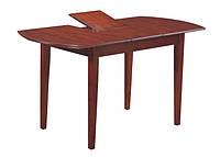 Деревянный раскладной стол Герда на 4х ногах, 1100(+300)*700*750 (каштан)