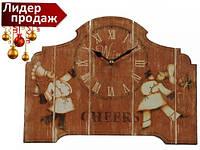 Часы настольные Поварята 25 см 22-25