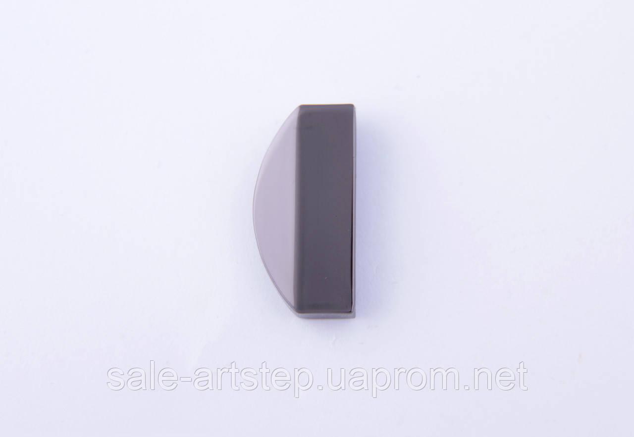 Металлический декор-наконечник темный никель