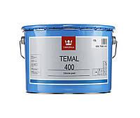 Эмаль силиконовая TIKKURILA TEMAL 400 термостойкая черная, 10л