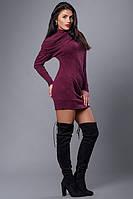 Стильное женское платье-туника из качественного материала