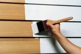 Фарби для дерев'яних фасадів