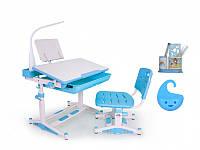 Комплект парта и стульчик Evo-kids BD-04 New с лампой