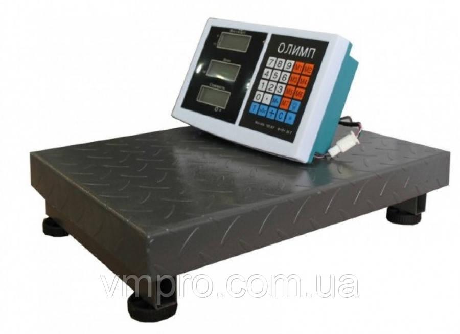 Весы торговые Олимп  150 кг. платформа 40×50
