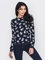 Модный трикотажный женский свитшот с принтом Панды 90210