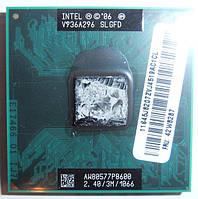 Процессор INTEL CORE 2 DUO P8600 SLGFD 2,4Ггц / 1066МГц