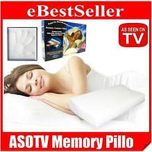 Ортопедична подушка з пам'яттю Comfort Memory Foam Pillow FK