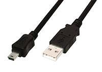 Кабель USB на mini USB 3 метра