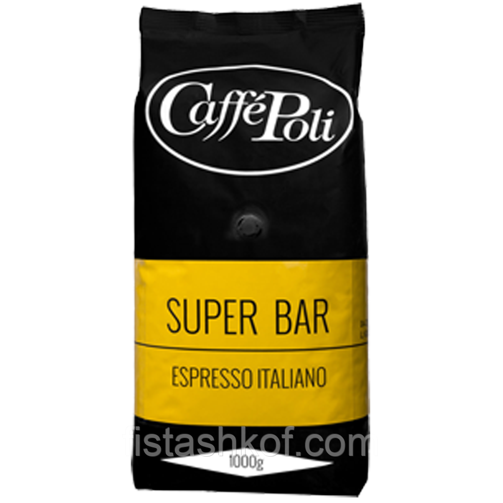 Caffe Poli Super Bar Кофе 1кг. (зерно)