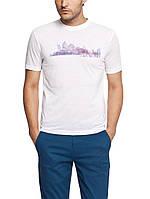 Мужская футболка LC Waikiki белого цвета с надписью Las Vegas