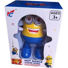 Танцующая игрушка Миньон Big FX