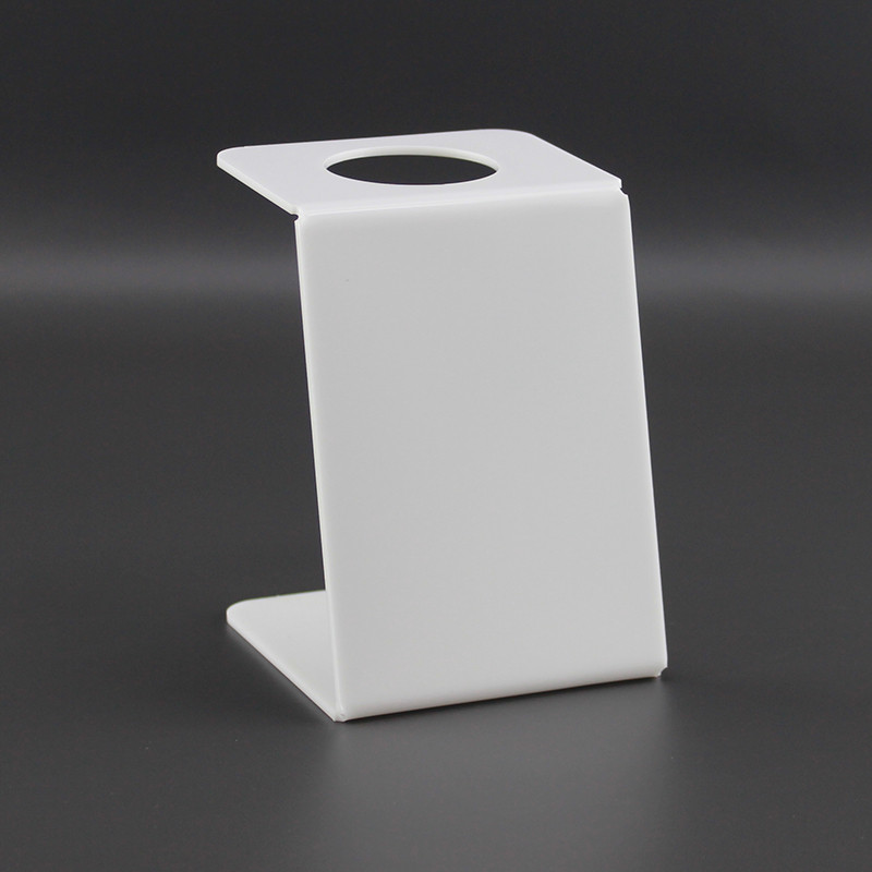 Подставка для вафельного рожка на 1шт. Белая. Акрил 3 мм