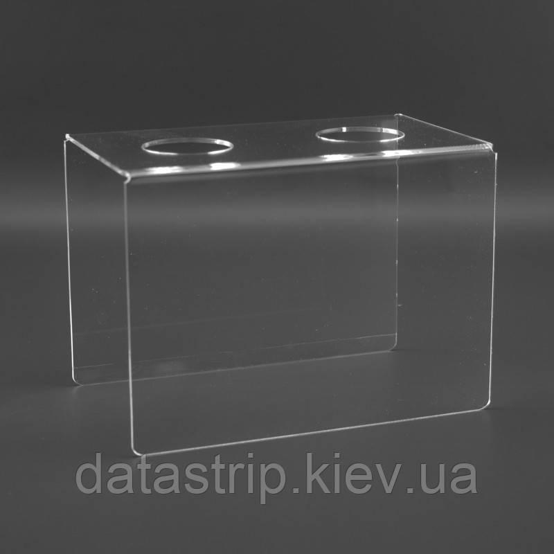 Подставка для вафельного рожка на 2шт. Акрил 3 мм