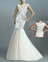 DL-593 Белое Платье Свадьбу Выпускной Русалка