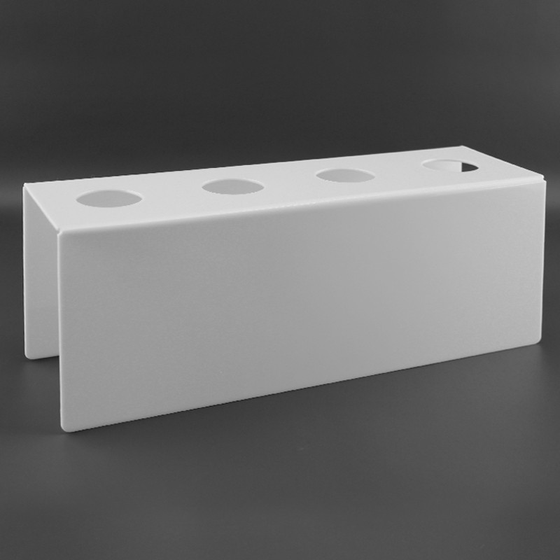 Подставка для вафельного рожка на 4шт. Белая. Акрил 3 мм