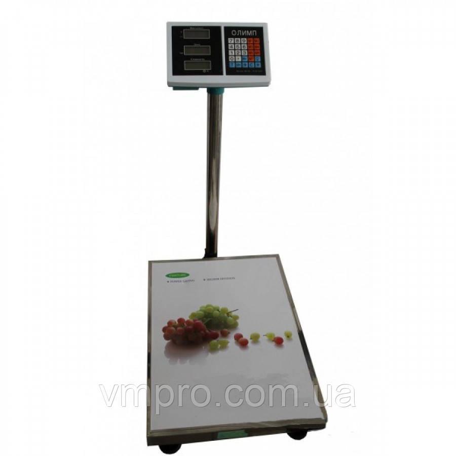 Весы торговые Олимп со стойкой 150 кг. платформа 40×50