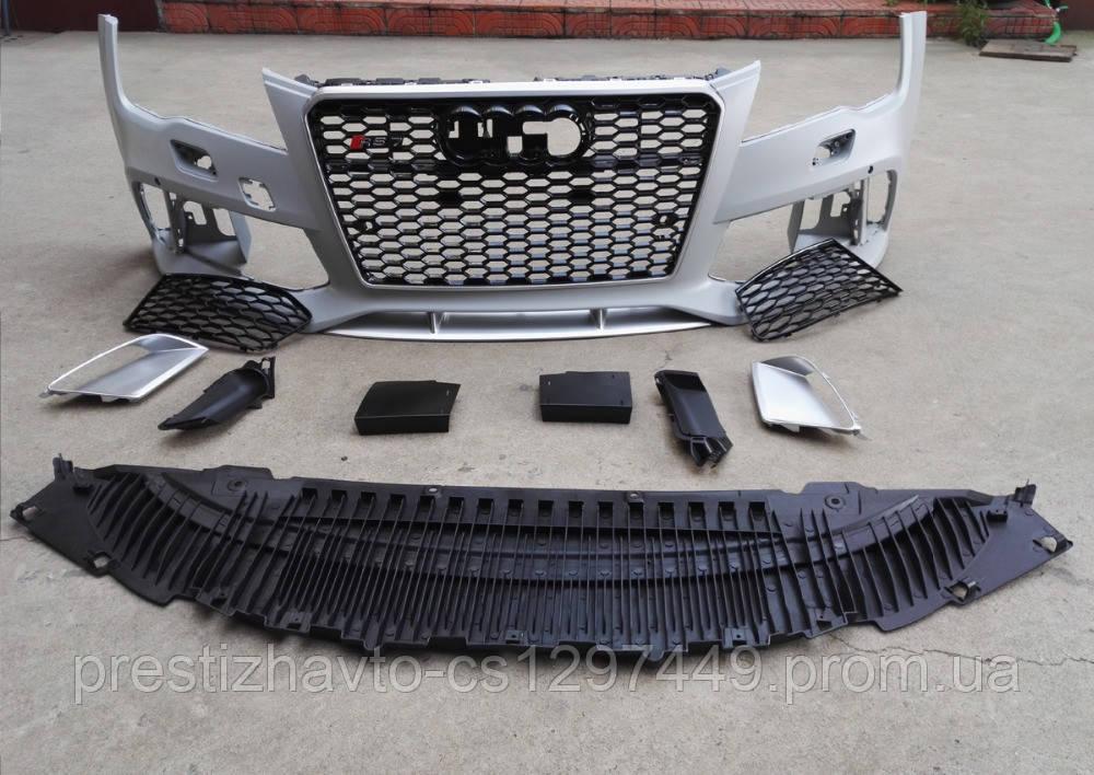 Передний бампер RS7 на Audi A7 (2010-...)