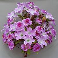 Роза лилия В 14/48 букет искусственная