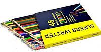 Карандаши цветные 48шт Superb Writer 4100-48СВ Marco
