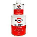 Mipa Грунт RELO Relocryl акриловый HS 4+1 черный +отвердитель, 1л