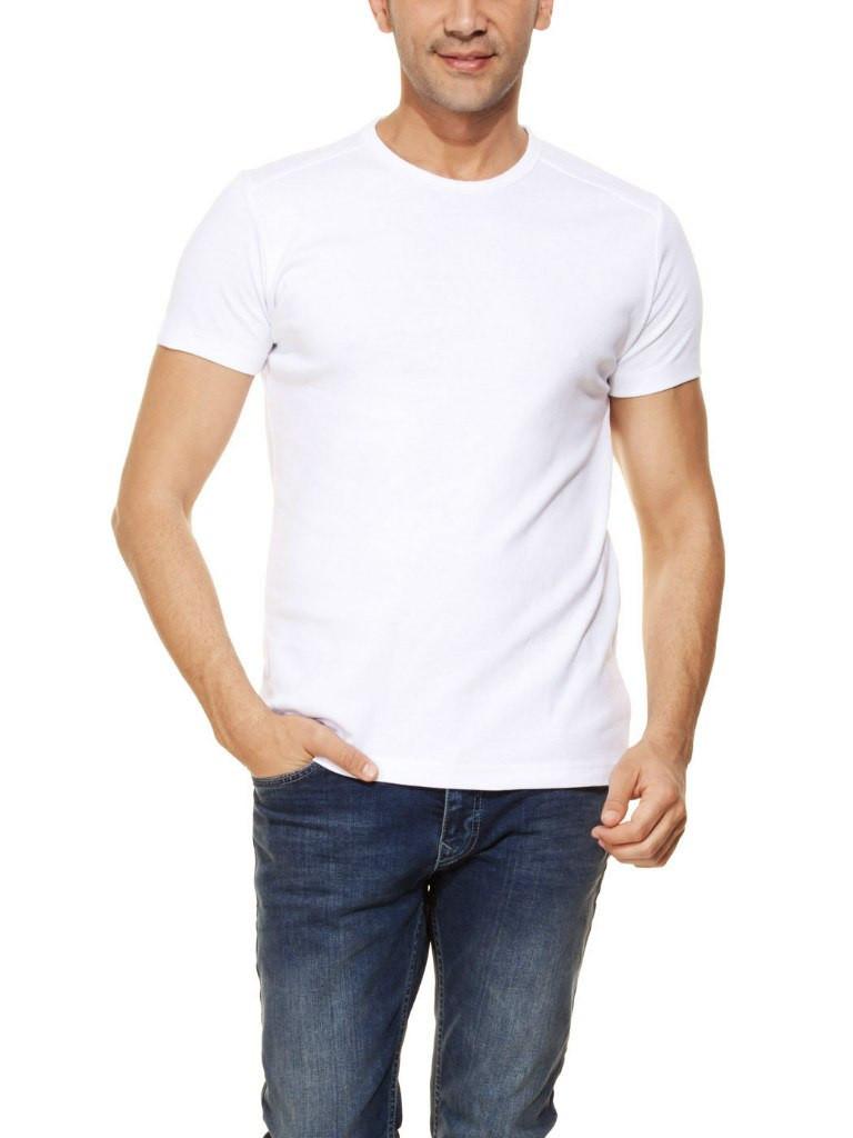 Мужская футболка LC Waikiki белого цвета