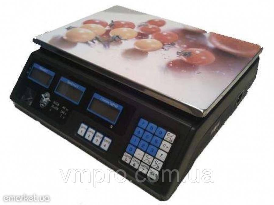 Весы торговые электронные 40 кг.