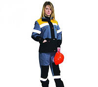 Костюм рабочий женский оптом от 10 шт. Брюки куртки пошив под заказ