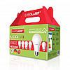 LED Лампа «Промо набор 6 в 1» А60 8W E27 3000K